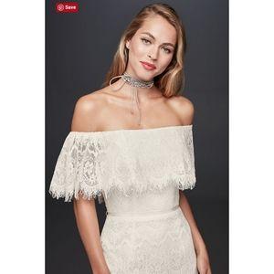 NEVER WORN David's Bridal Wedding dress